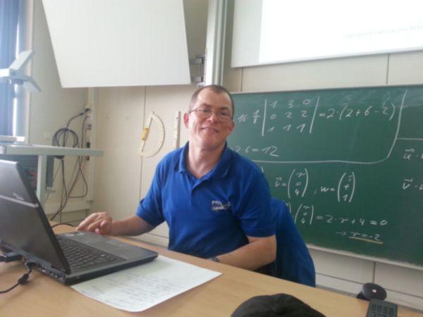 Vortrag von Markus Lemcke in der Hochschule Esslingen