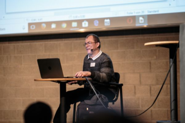 Markus Lemcke als Referent auf dem World Usability 2017