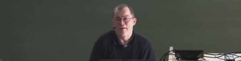 Markus Lemcke von Marlem-Software beim Vortrag am Accessibility Day